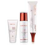 Sistema de Clareamento Chronos - Fluido Protetor Facial + Pharma Gel Clareador + Esfoliante Antissinais